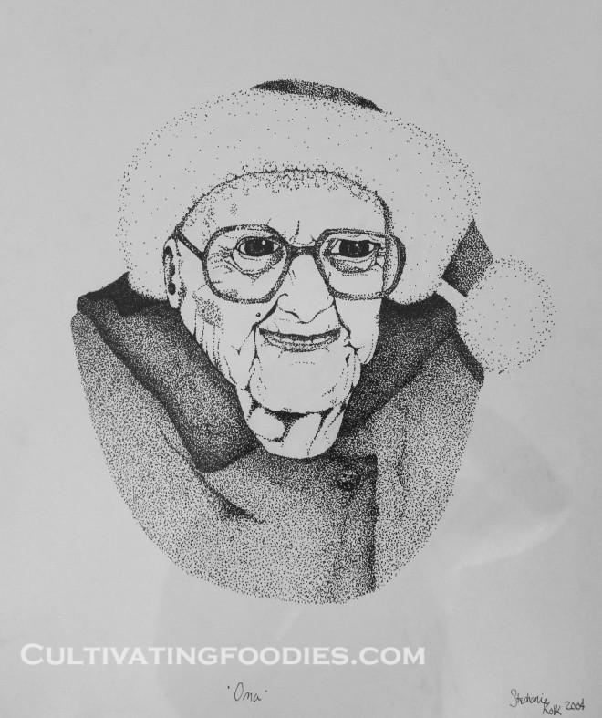 Old Oma Drawing